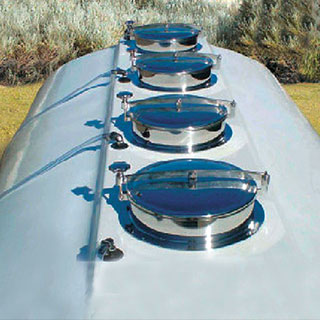 Multiple Segment Cartage Tanks