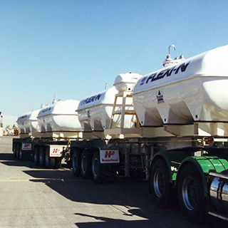 High Density Liquid Fertiliser Cartage Tanks