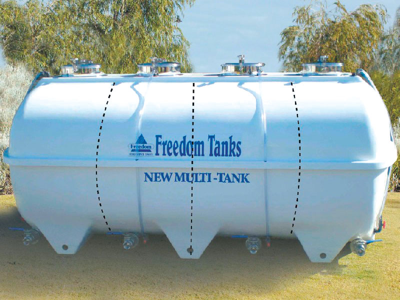 Multi Tanks by Freedom Tanks